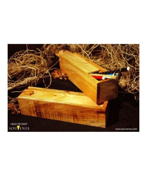 Souvenir-Tempat-Pensil-Kayu-Sliding-K38