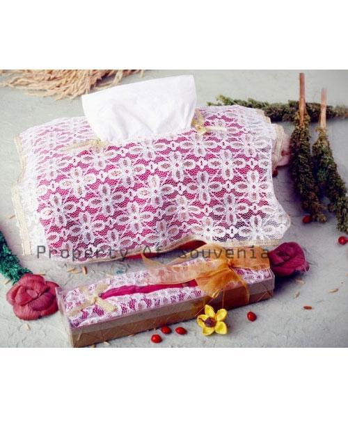 Souvenir-Pernikahan-Tempat-Tissue-Satin-Brokat-TT16
